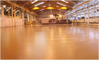industrial floor slab