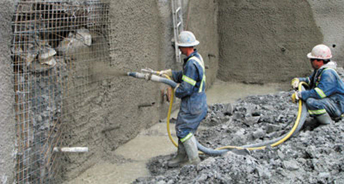 Shotcrete Construction