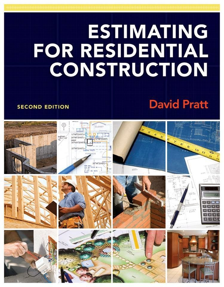 Estimating for residential construction book free download for Residential building cost estimator