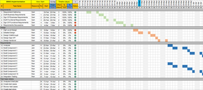 Project-Tracker-Excel