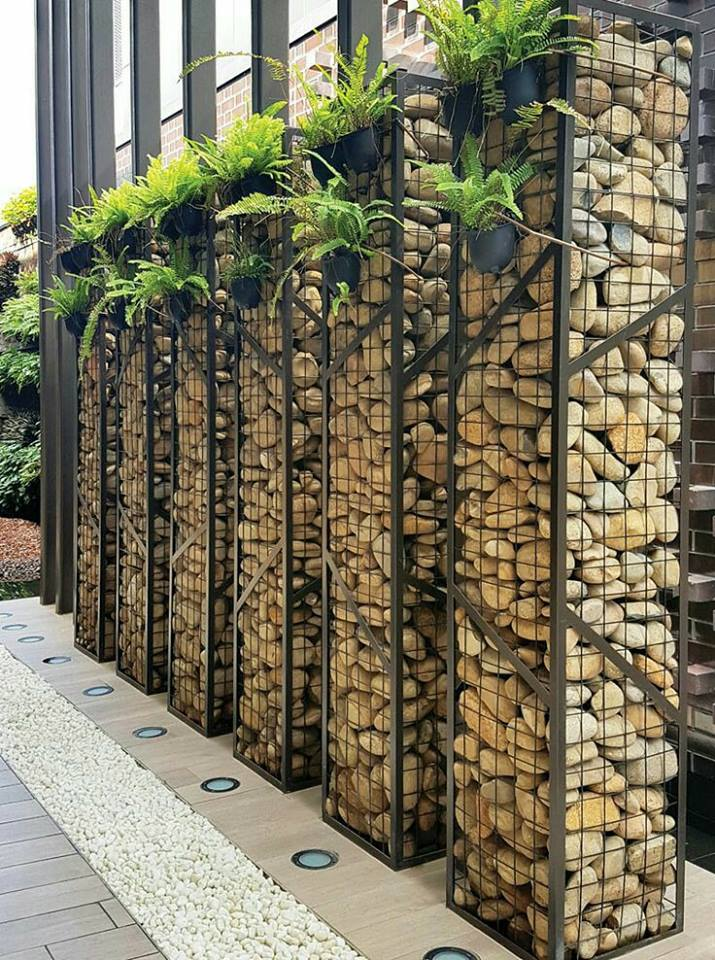 Gabion work examples images